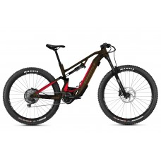 GHOST E-Bike ASX Essential 160 B625 - Chocolate Brown / Riot Red