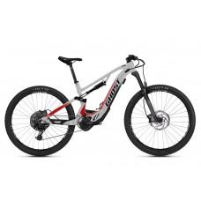 GHOST E-Bike ASX Base 130 B625 - Iridium Silver / Jet Black / Red