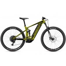 GHOST E-Bike E-Riot Trail CF Advanced B625 - Kiwi Green / Midnight Black