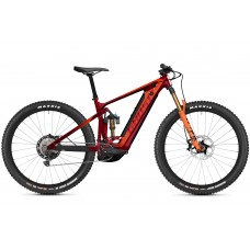 GHOST E-Bike E-Riot Trail CF Pro B625 - Dark Red / Orange
