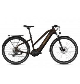 GHOST E-Bike E-Square Trekking Advanced Y630 Ladies - Chocolate / Gold