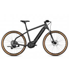 GHOST E-Bike E-Square Cross Essential B500 - Dark Silver / Midnight Black