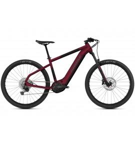 GHOST E-Bike E-Teru Advanced 27.5 Y630 - Dark Cherry / Midnight Black / Gray