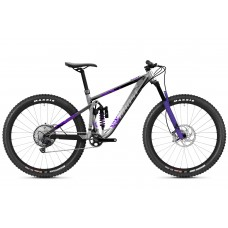 GHOST Riot Trail Full Party - Silver / Electric Purple